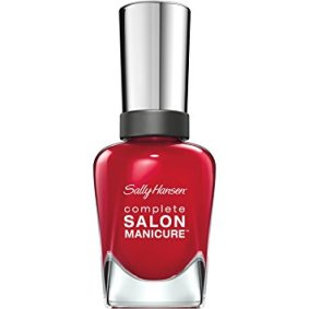 nailpolish red